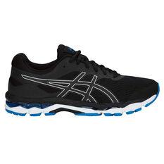 Asics GEL Superion 2 Mens Running Shoes Black / Silver US 7, Black / Silver, rebel_hi-res