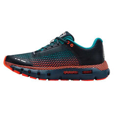 Under Armour HOVR Infinite Kids Running Shoes Teal / Red US 4, Teal / Red, rebel_hi-res