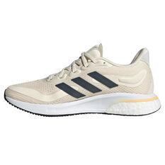 adidas Supernova Womens Running Shoes White/Navy US 6, White/Navy, rebel_hi-res