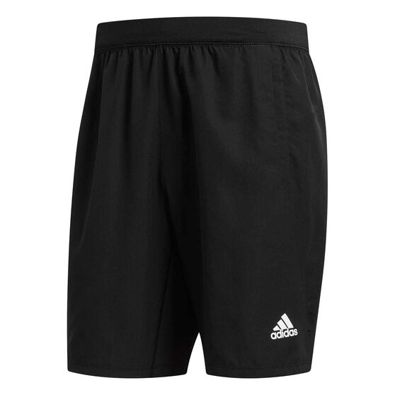 adidas Mens 4KRFT Tech Elevated Woven 8in Shorts, Black, rebel_hi-res