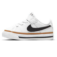 Nike Court Legacy Toddlers Shoes White/Black US 4, White/Black, rebel_hi-res