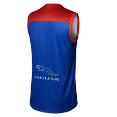 Melbourne Demons 2020 Mens Away Guernsey Blue/Red S, Blue/Red, rebel_hi-res