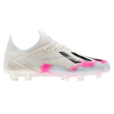 adidas X 19.1 Football Boots White US Mens 7 / Womens 8, White, rebel_hi-res
