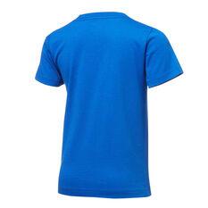 Nike Boys Air Swoosh Tee Blue/White 4, Blue/White, rebel_hi-res