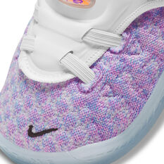 Nike LeBron XVIII Toddlers Shoes, Lilac, rebel_hi-res