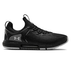 Under Armour HOVR Rise 2 Mens Training Shoes Black/Grey US 7, Black/Grey, rebel_hi-res