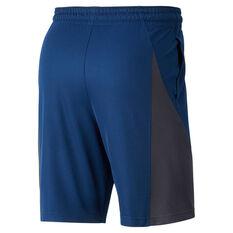 Nike Mens 9in Basketball Shorts Blue S, Blue, rebel_hi-res