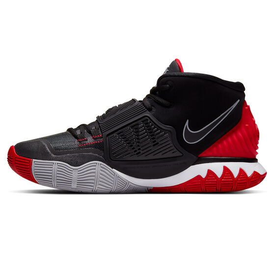 Nike Kyrie VI Mens Basketball Shoes Black / Red US 9.5, Black / Red, rebel_hi-res