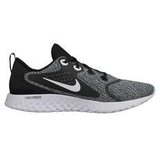 Nike Legend React Mens Running Shoes Black / White US 7, Black / White, rebel_hi-res