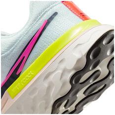 Nike React Infinity Run Flyknit 2 Womens Running Shoes, White/Black, rebel_hi-res