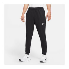 Nike Mens Dri-FIT Tapered Training Pants Black S, Black, rebel_hi-res