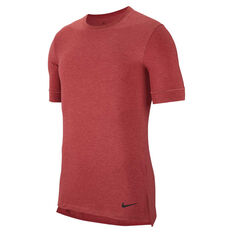 Nike Mens Dri-FIT Transcend Training Tee Red M, Red, rebel_hi-res