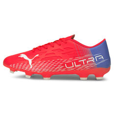 Puma Ultra 4.3 Football Boots Red/Blue US Mens 7 / Womens 8.5, Red/Blue, rebel_hi-res