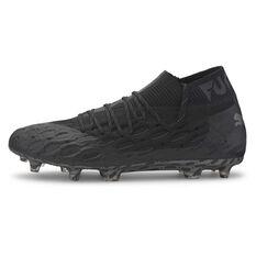 Puma Future 5.1 Netfit Football Boots Black US Mens 7 / Womens 8.5, Black, rebel_hi-res