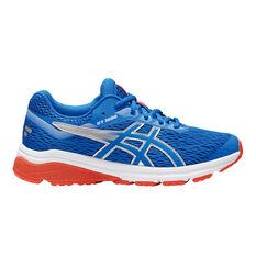 Asics GT 1000 7 Kids Running Shoes Blue US 4, Blue, rebel_hi-res