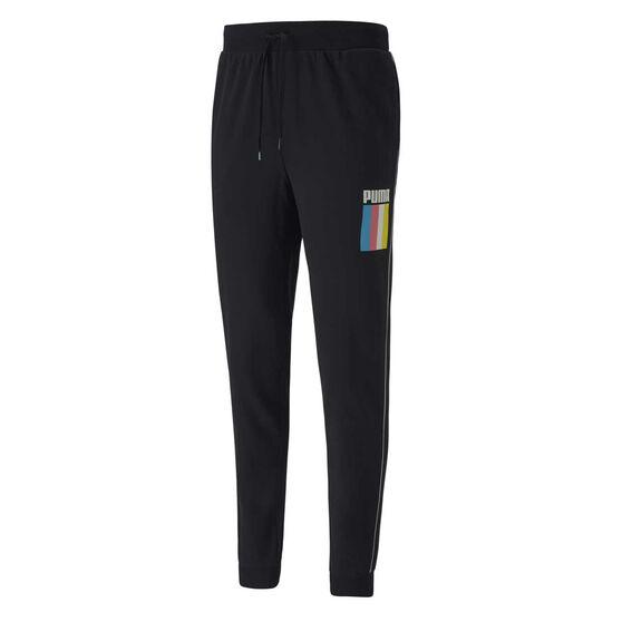 Puma Mens Celebration Sweatpants, Black, rebel_hi-res