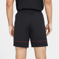 Nike Mens Dri-FIT Academy 21 Knit Soccer Shorts Black S, Black, rebel_hi-res