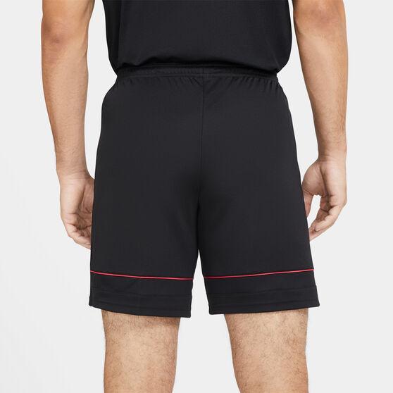 Nike Mens Dri-FIT Academy 21 Knit Soccer Shorts, Black, rebel_hi-res