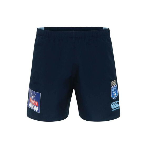 NSW State of Origin  Mens Gym Shorts, Blue, rebel_hi-res