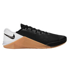 Nike Metcon 5 Mens Training Shoes Black/White US 7, Black/White, rebel_hi-res