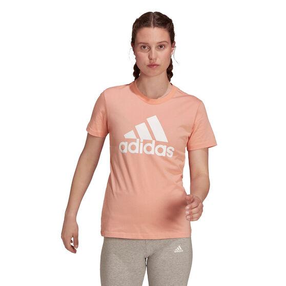adidas Womens Essentials Big Logo Tee, , rebel_hi-res