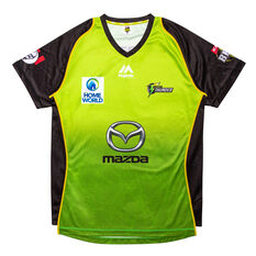 Sydney Thunder 2019 Mens Jersey Green S, Green, rebel_hi-res