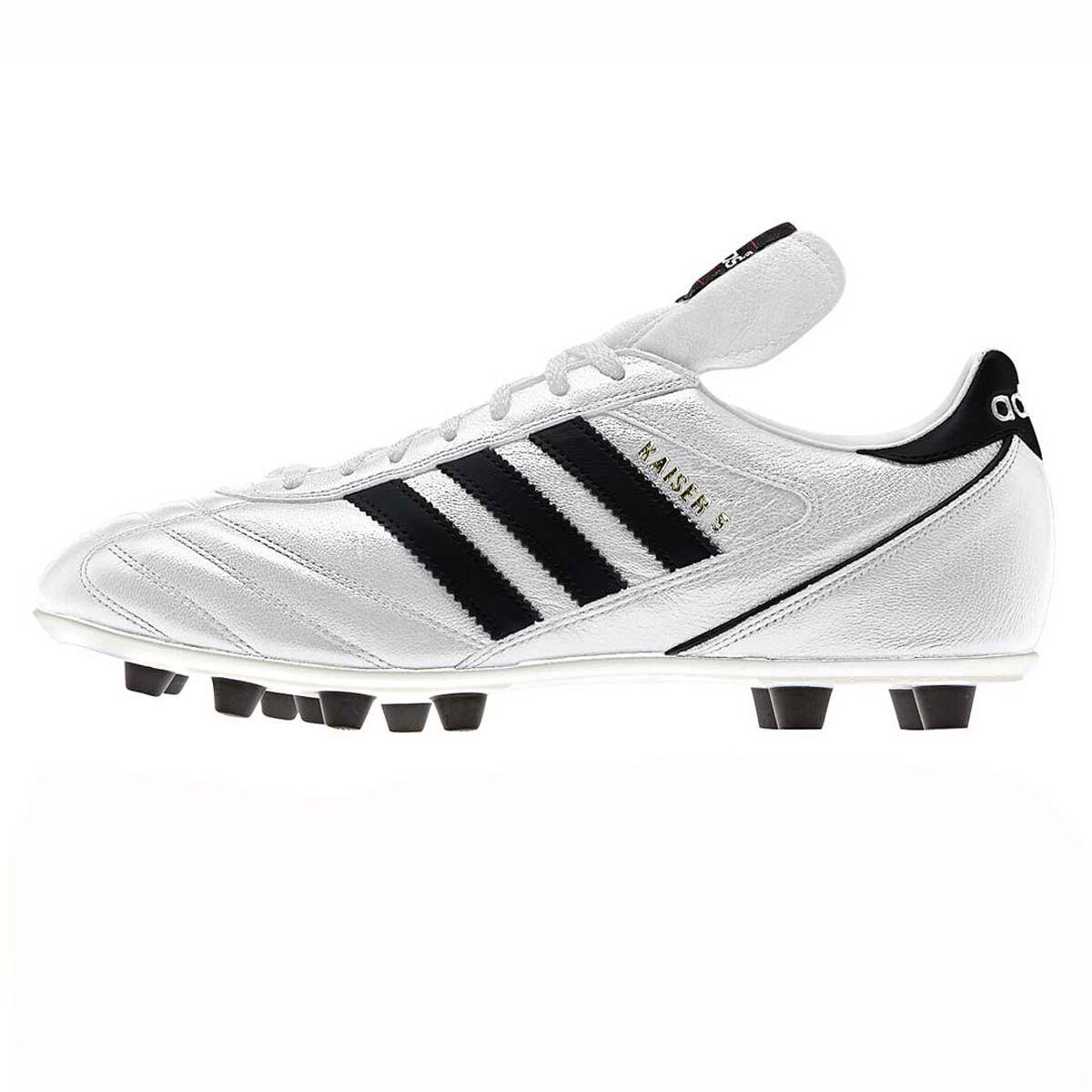 adidas Kaiser 5 Liga Leather FG Men's Black White
