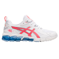 Asics GEL Quantum 180 Womens Casual Shoes White/Coral US 6, White/Coral, rebel_hi-res