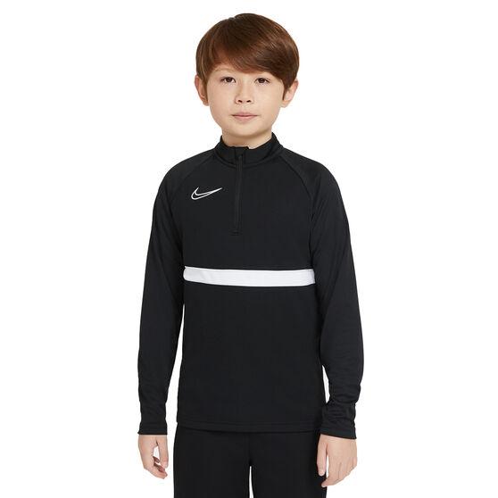 Nike Boys Dri-FIT Academy 21 Drill Top, Black, rebel_hi-res