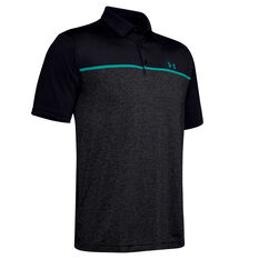 Under Armour Mens Playoff Polo 2.0 Black S, Black, rebel_hi-res