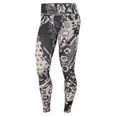 Nike Womens Fast 7 / 8 Printed Running Tights Multi XS, Multi, rebel_hi-res