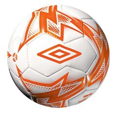 Umbro Neo Trainer Mini Soccer Ball White / Orange 1, , rebel_hi-res