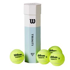 Wilson Triniti 4 Tennis Ball Pack, , rebel_hi-res