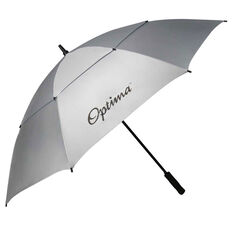 Optima Double Canopy Solar Golf Umbrella White / Grey 64in, , rebel_hi-res