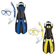 Mares Marlin Volo Senior Snorkelling Set Assorted S / M, Assorted, rebel_hi-res
