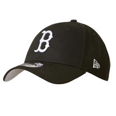 Boston Red Sox  9FORTY Black Perforated Cap, , rebel_hi-res