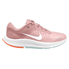 Nike Air Zoom Structure 23 Womens Running Shoes Pink/White US 6, Pink/White, rebel_hi-res
