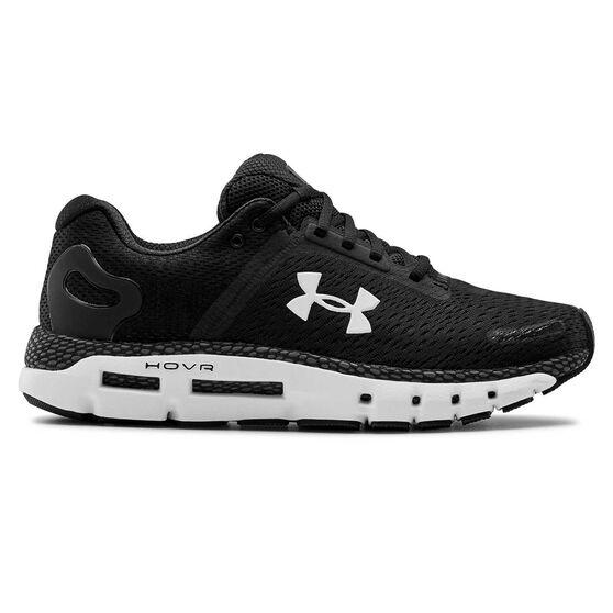Under Armour HOVR Infinite 2 Mens Running Shoes, Black / White, rebel_hi-res