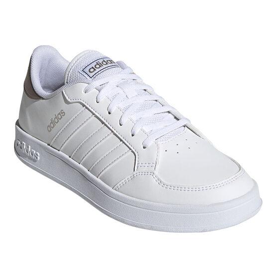 adidas Breaknet Womens Casual Shoes, White, rebel_hi-res