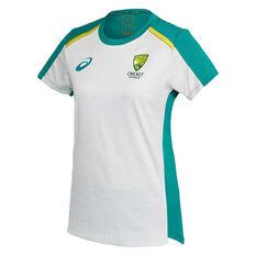 Cricket Australia 2020/21 Womens Training Tee Grey 10, Grey, rebel_hi-res