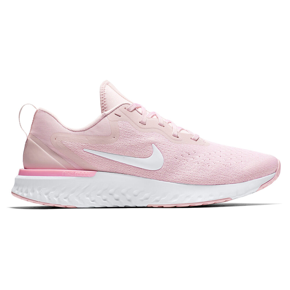 22b659be3f485 Nike Odyssey React Womens Running Shoes Pink   White US 10