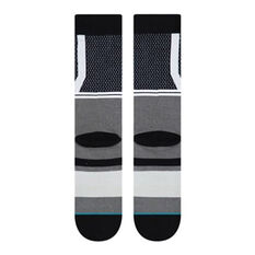 Stance Brooklyn Nets 2020 Shortcut 2 Socks Grey L, Grey, rebel_hi-res
