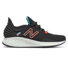 New Balance Fresh Foam Roav Womens Running Shoes Black US 6, Black, rebel_hi-res