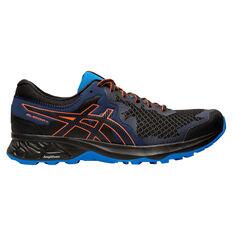 Asics GEL Sonoma 4 Mens Trail Running Shoes Black / Coral US 7, Black / Coral, rebel_hi-res