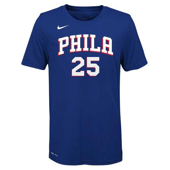 Nike Kids Philadelphia 76ers Ben Simmons Dry Tee S  3b4fc724e