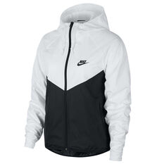 Nike Womens Sportswear Windrunner Jacket White XS, White, rebel_hi-res