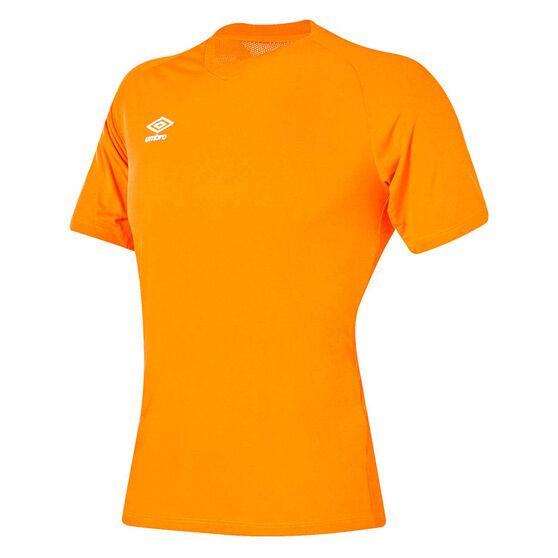 Umbro League Training Knit Jersey, Orange, rebel_hi-res