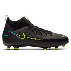 Nike Phantom GT Academy Kids Football Boots Black US 1, Black, rebel_hi-res