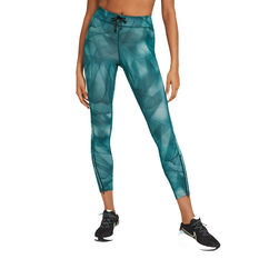 Nike Womens Epic Faster Run Division 7/8 Running Tights Blue XS, Blue, rebel_hi-res