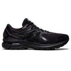 Asics GT 2000 9 2E Mens Running Shoes Black US 7, Black, rebel_hi-res